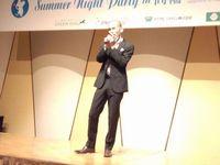 イベントの最後には、サプライズで歌手の木山裕策さんが登場。
