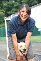やはり「犬が大好き!」な堂岡さん(猫も大好きなそうですが!)